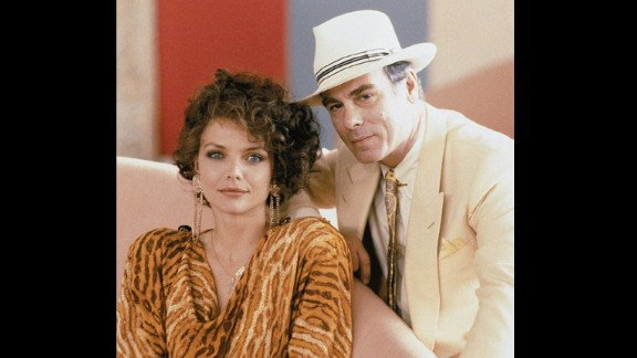 """In """"Married to the Mob"""" (1988), Dean Stockwell plays a mob boss who courts Michelle Pfeiffer"""