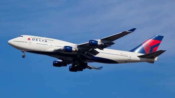 A Delta Boeing 747 similar to this one and a Shuttle America Embraer E170 passed alarmingly close on June 13, the FAA said. Both planes landed safely.