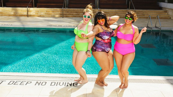 """When plus-sized fashion blogger Gabi Gregg popularized the term """"fatkini"""" last year, she dreamed of helping plus-sized women feel better about themselves during the swimsuit season. This spring, she teamed up with clothing line SwimSuitsForAll -- and her suits sold out in one day."""