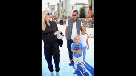 With one son named Kingston, Gwen Stefani and Gavin Rossdale had to up the ante with their second son, who was born in 2008. The inspiration behind the name Zuma Nesta Rock has been heavily dissected, with most agreeing that Zuma is a nod to Zuma Beach in Malibu. The pair