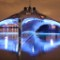 superyacht adastra glowing