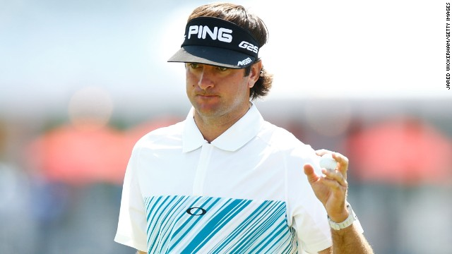 Bubba Watson shares the lead going into the final round of the Travelers Championship in Connecticut.