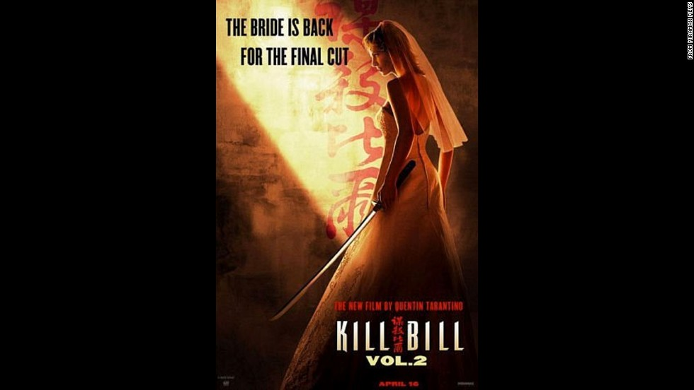 "La Novia regresa en 2004 en ""Kill Bill Volumen 2"" para continuar su venganza."