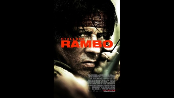 """Sure, there were earlier """"Rambo"""" movies, but Sylvester Stallone was the quintessential killing machine in the 2008 version as he attempted to rescue aid workers in Myanmar."""