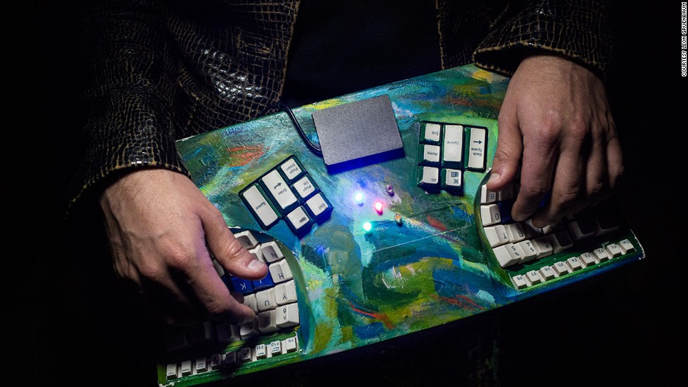 The Samchillian Tip Tip Tip Cheeepeeeee is a keyboard MIDI controller based on changes of pitch, rather than fixed pitches. Each key on the keyboard does not denote a fixed pitch, as it would on a normal keyboard, but rather a change of pitch. A user first selects a scale and a key, and then every note played will be in that set of notes.