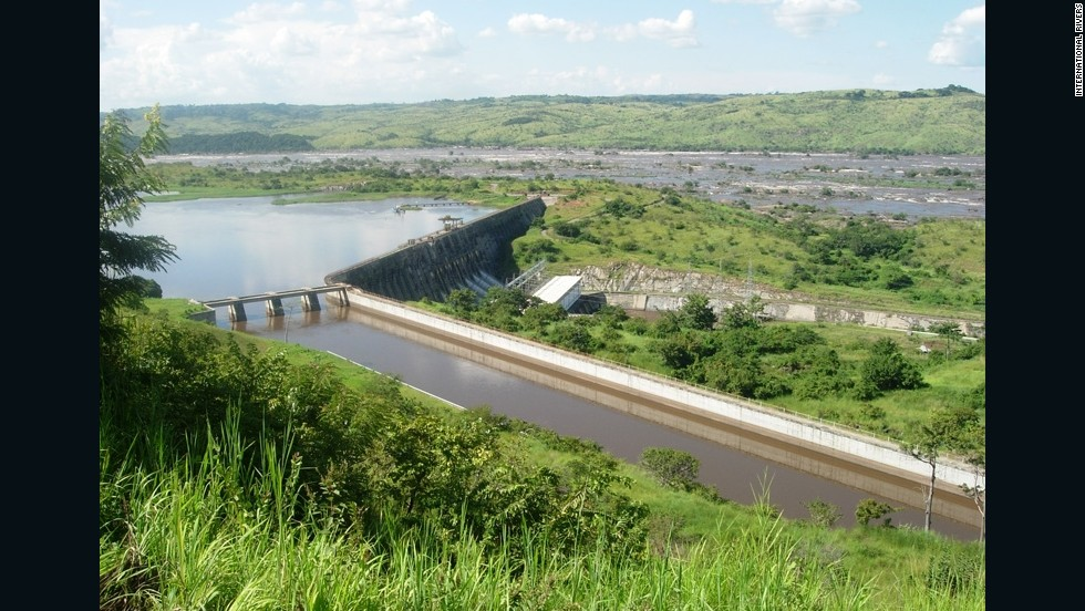 There are plans for Congo's Inga dam to form part of a multi-billion dollar hydropower project with a capacity of 40,000 MW -- twice as much as the Three Gorges dam in China.