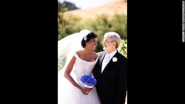 Mellody Hobson and George Lucas married on June 22, 2013.
