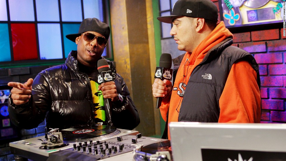 "Kweli is often regarded -- even by Jay-Z -- as one of the best lyricists in hip-hop, but the kudos haven't always translated into album sales. He is shown in 2008 on the set of ""Yo! MTV Raps"" with host Cipha Sounds, right."