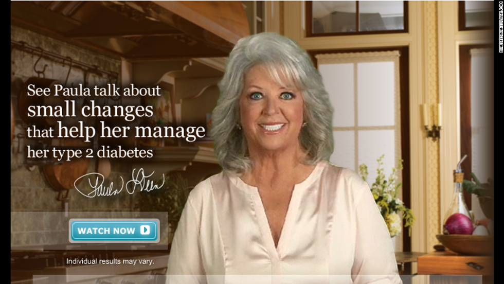"Deen was a paid spokeswoman for Novo Nordisk, the company that makes the diabetes drug Victoza. The relationship <a href=""http://eatocracy.cnn.com/2012/01/17/paula-deen-confirms-that-she-has-type-2-diabetes-unveils-partnership-with-drug-company/"">came under fire from fans</a> when it was revealed that Deen had known of her own diabetes diagnosis while still promoting fatty, sugary recipes on air and in print. The company announced that it is suspending its relationship with Deen."