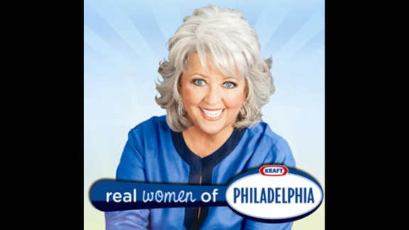 """For two seasons, Kraft Foods' """"Real Women of Philadelphia"""" campaign employed Deen as the celebrity host of a contest for home cooks who shared cooking videos featuring the brand's signature cream cheese. Kraft has not worked with Deen since early 2012."""