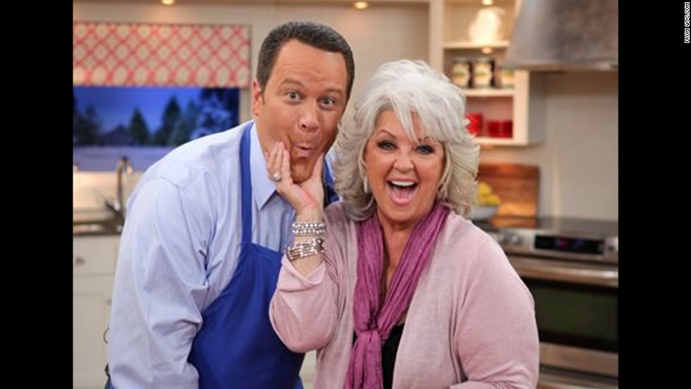 "QVC features the <a href=""http://www.qvc.com/Paula-Deen-Kitchen-&-Food.category.0102.html?refine=1001299+4294966886&cm_re=BRAND-_-Paula+Deen-_-BYALPHABET&cm_sp=BRANDLINKS-_-BRANDS-AZ-_-Paula+Deen"" target=""_blank"">Paula Deen's Kitchen</a> line of products, including cookware, bakeware and cookbooks. A spokesperson for the brand said: ""Paula won't be appearing on any upcoming broadcasts, and we will phase out her product assortment on our online sales channels over the next few months."""