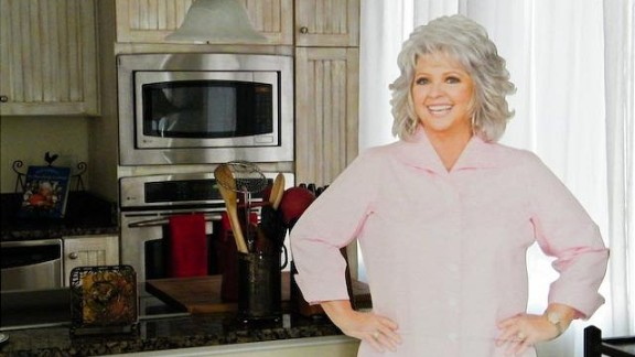 """Fans can enjoy a Paula Deen-themed vacation at the chef's beach house, the """"<a href=""""http://bookings.mermaidcottages.com/Unit/Details/39370"""" target=""""_blank"""" target=""""_blank"""">Y'all Come Inn</a>"""" on Tybee Island, near Savannah, Georgia. Perks include """"VIP Guaranteed reservations"""" at Uncle Bubba's Oyster House and The Lady & Sons restaurant and a personalized Paula Deen cookbook."""
