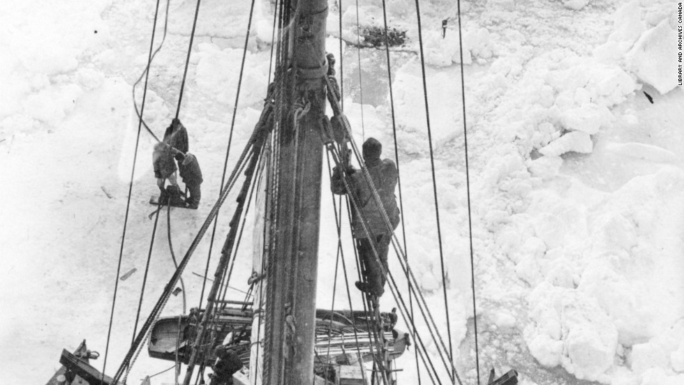 Trapped in drifting ice, the remaining men knew they were moving farther and farther from land, and the days were getting shorter and shorter. It was clear that if the ice did not release them soon, they would be stuck throughout the winter and carried even farther away from civilization.
