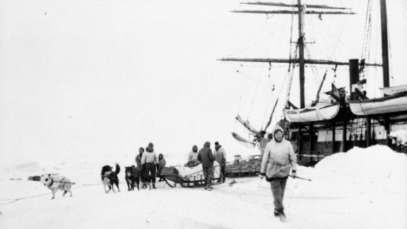 During a 1913 expedition to explore the region north of Alaska and Canada, 31 people aboard the Canadian sponsored ship Karluk became trapped in ice, beginning a yearlong ordeal. Click through the images for photos from the historic adventure.