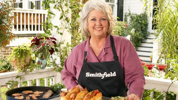 """<a href=""""http://eatocracy.cnn.com/2013/06/24/smithfield-foods-drops-paula-deen/"""">Smithfield Foods terminated its relationship with the TV chef</a>, saying: """"Smithfield condemns the use of offensive and discriminatory language and behavior of any kind. ... Smithfield is determined to be an ethical food industry leader and it is important that our values and those of our spokespeople are properly aligned."""" Deen became a spokeswoman for Smithfield, the country's largest producer of pork products, in 2006."""