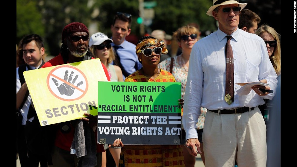 supreme court makes historic voting rights law harder to enforce