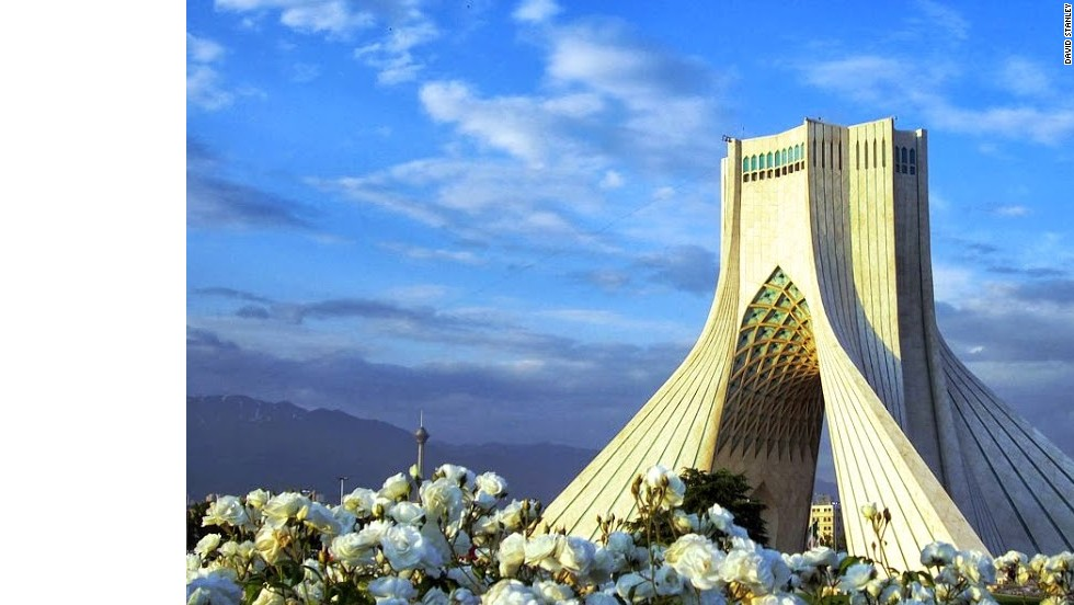 "The Azadi Tower, in Tehran, was erected in 1973 to commemorate the 2,500th anniversary of the first Persian empire. Iran presents a wealth of distinctive ancient and modern architecture. <a href=""http://edition.cnn.com/2013/06/26/travel/iran-time-for-travelers-to-return/index.html"">Read the accompanying article.</a>"