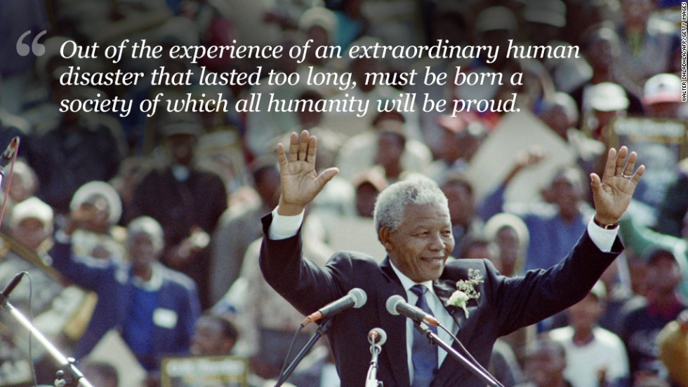 Nelson Mandelas Top Quotes