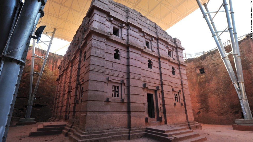 UNESCO declared Lalibela a World Heritage Site in 1978. Five years ago, the international agency erected protective coverings to shield four of the churches from the elements. Experts say they are critical to preserving the integrity of the structures.