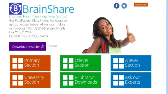 """Michelle Atagana has selected 10 exciting African tech startups: """"BrainShare is a social-education app that aims to connect people across Uganda, and the world, through education.  """"It is an online classroom that helps people study while networking, and combines real-time collaboration, note sharing and tutoring across a number of platforms."""""""