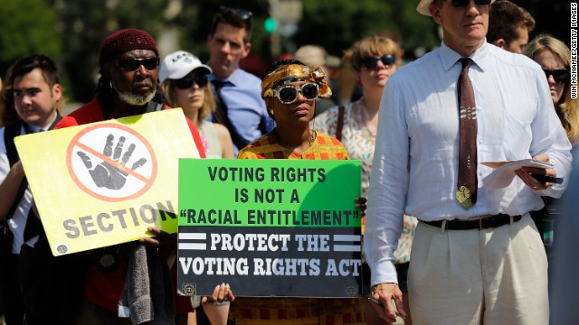 Civil rights activists believe expanding voting rights is crucial to achieving social justice.