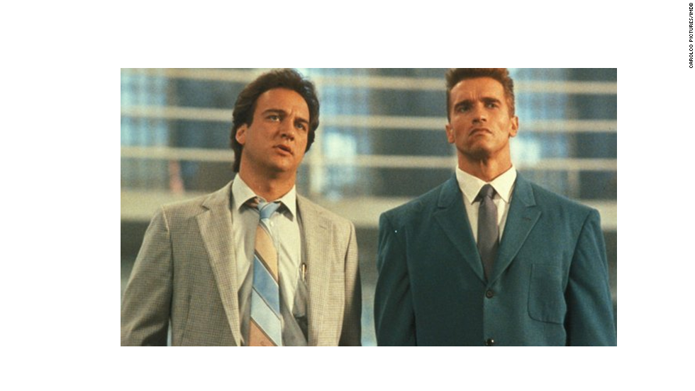 The Cold War was nearly over, but it seemed like a Hollywood no-brainer to combine U.S.-Soviet tensions with a buddy cop movie. Jim Belushi, left, paired up with Arnold Schwarzenegger as an American-Russian police duo in this 1988 comedy. Audiences ate it up, but any possibility for a sequel likely faded with the Soviet Union's fall.