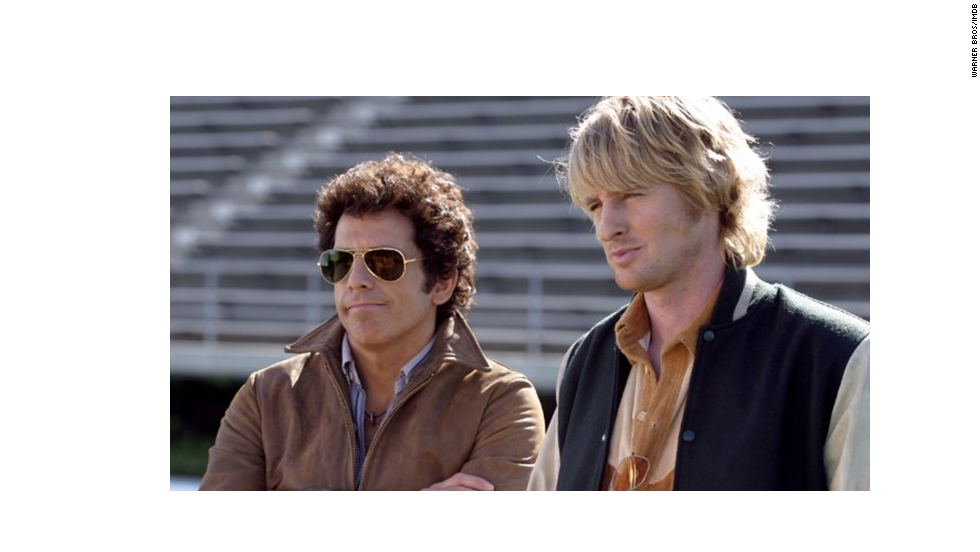 "Ben Stiller, left, and Owen Wilson also did a spoof of a classic series -- this one from the 1970s. The 2004 comedy from director Todd Phillips was not quite as successful as his later ""The Hangover."""