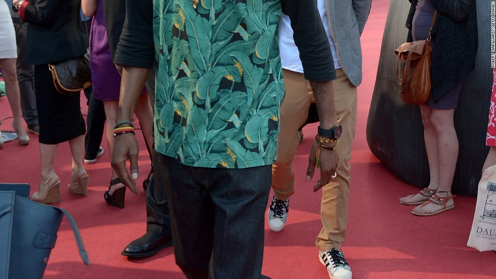 "Snoop Lion attends the premiere of ""Turbo"" in Barcelona, Spain on June 25."