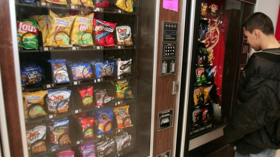 The U.S. Department of Agriculture is implementing new rules for snack foods in schools. These changes will go into effect for the 2014-2015 school year. Click through to see what will be for sale in vending machines and snack shops -- and what won't be.