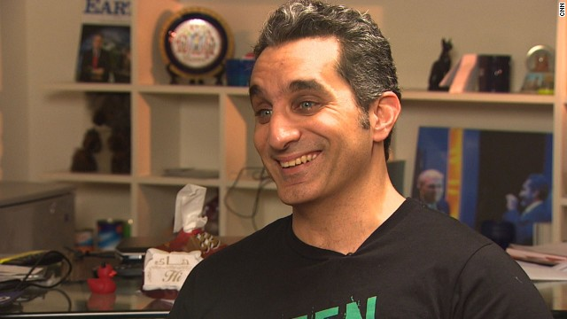 Dr. Bassem Youssef says he will soon return to the air.