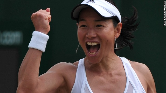 Japan's Date-Krumm became the second oldest player in the Open Era to reach the third round of a grand slam on Thursday.