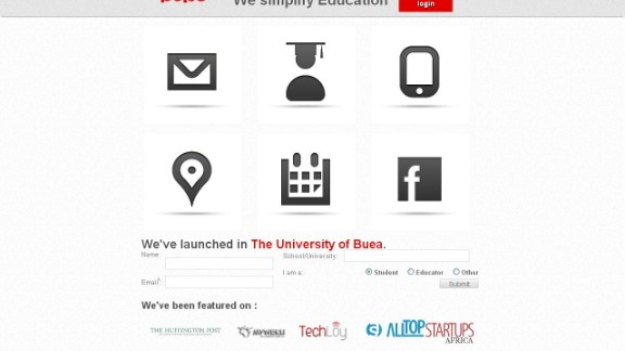 """""""Wish your university had a social network that doubles as a notice board and online classroom? Meet Cameroon's Pulse.  """"The platform connects students and teachers, and Pulse offers $50 Android-based tablets for use at free university Wi-Fi hotspots. Notes, assignments and notices all at your fingertips. """""""