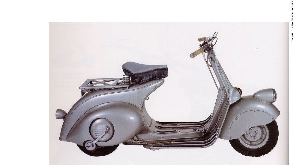 """Vespa's unisex design is genius: both men in suits and women in skirts can travel elegantly,"" says Italian designer Gianfranco Zaccai, who nominated the famous scooter. ""Used in Fellini's ""La Dolce Vita"" and loved by the Beatles, the Vespa has had a profound impact on culture, productivity, and society."""