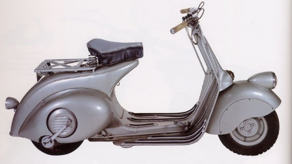 """""""Vespa's unisex design is genius: both men in suits and women in skirts can travel elegantly,"""" says Italian designer Gianfranco Zaccai, who nominated the famous scooter. """"Used in Fellini's """"La Dolce Vita"""" and loved by the Beatles, the Vespa has had a profound impact on culture, productivity, and society."""""""