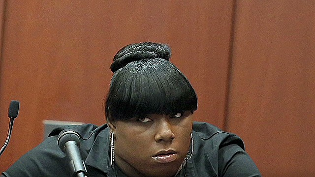 How is Jeantel coming across to jury?