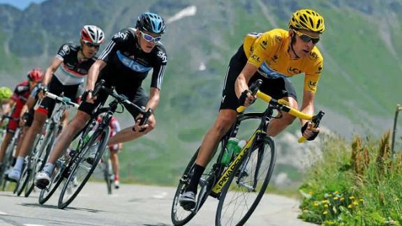 2012 Tour de France winner Bradley Wiggins leads this year