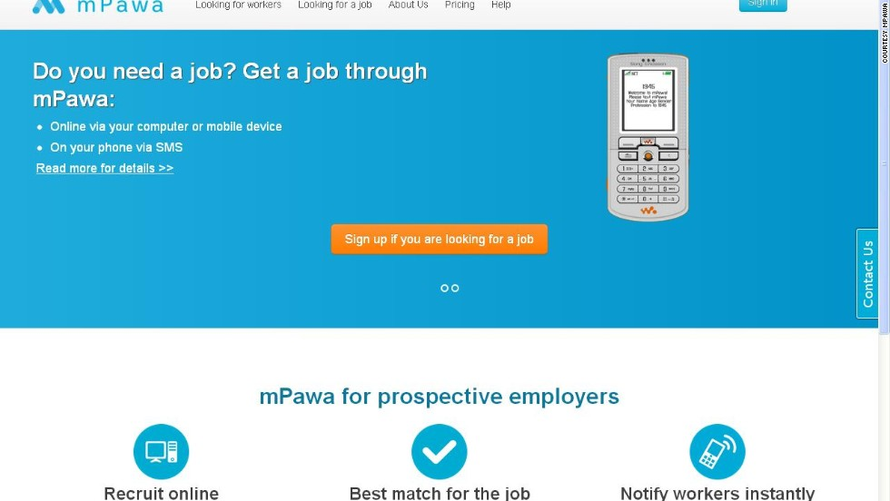 mPawa. which has offices in Ghana and Kenya, matches employers with potential employees via skills and experience.