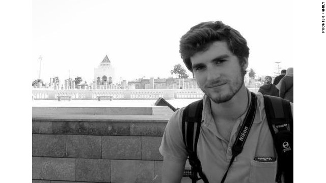 Andrew Driscoll Pochter, an American college student, was killed in the protesting in Alexandria.
