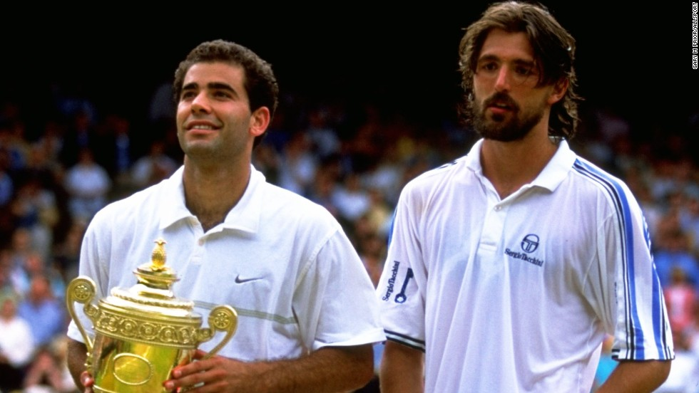 By beating Henman, Rafter, Andy Roddick and Marat Safin that year at Wimbledon, Ivanisevic banished memories of painful defeats on Centre Court. Pete Sampras bettered Ivanisevic in five sets in 1998.