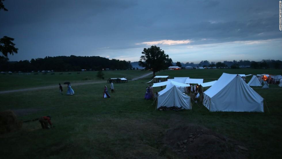 Photos: Gettysburg reenactments mark 150th anniversary