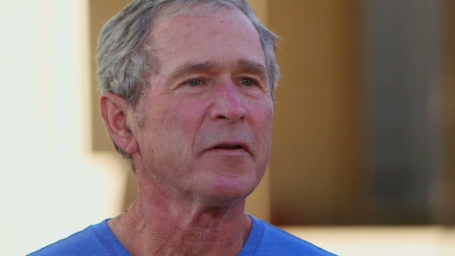 Bush on Snowden: He damaged the country