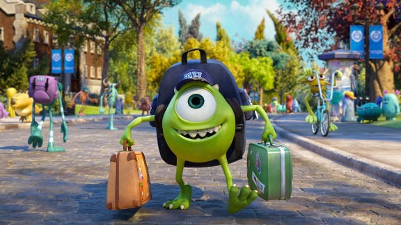 """No. 9: CNN readers love a good animated sequel. The first on the 2013 favorites list, """"Monsters University,"""" was a long overdue follow-up to 2001's """"Monsters, Inc."""""""
