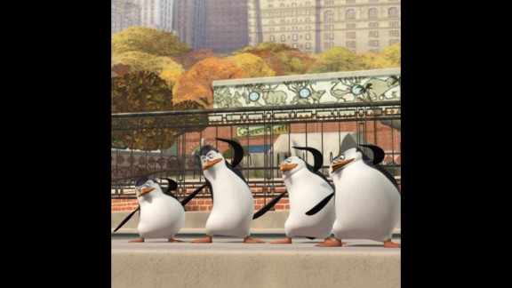 The penguins from Dreamworks