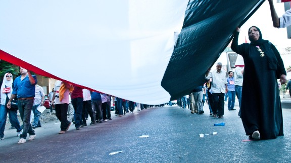 """""""The atmosphere was very emotional, seeing all Egyptians from all [walks] of life,"""" <a href=""""http://ireport.cnn.com/people/Boraie""""> Mohamed Boraie</a> said. """"Different areas of Cairo came along to call for President Morsy to step down."""""""