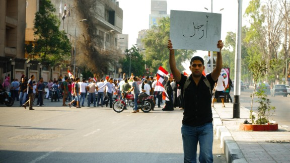 """Egyptian iReporter and photographer<a href=""""http://ireport.cnn.com/people/Boraie""""> Mohamed Boraie </a>captured scenes of protesters on the streets in Cairo on Sunday, June 30, as demonstrations against the Egyptian president (and some from his supporters) clogged the city's streets."""