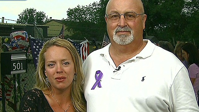 Firefighter's widow: They're all heroes