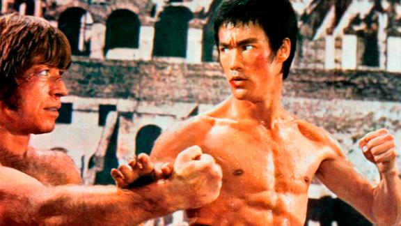 "Bruce Lee's fight with Chuck Norris in ""The Way of the Dragon"" is considered one of the best fight scenes of all time. Lee was considered unbeatable; now, a new bio explores his flaws."