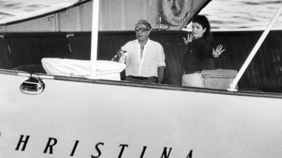 It was on board the 99-meter vessel that Onassis married former U.S. first lady, Jackie Kennedy. Now the elegant boat has been put up for sale for a whopping $32 million.