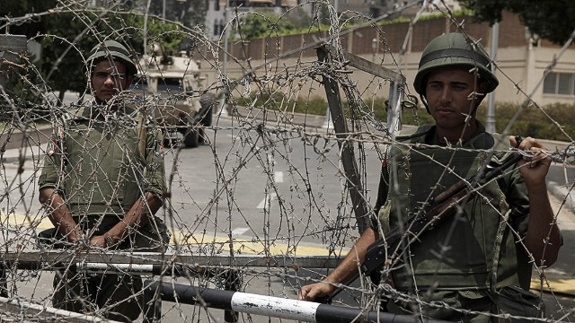 Coup highlights Egyptian military's role
