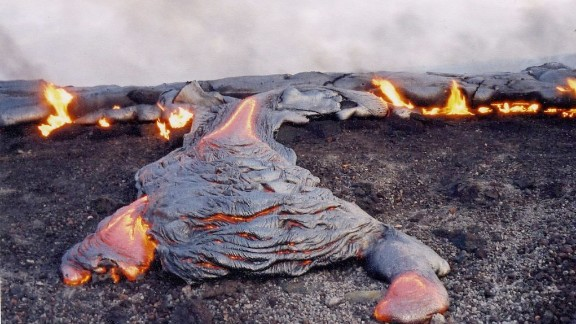 """Kilauea means """"spewing"""" or """"much spreading"""" in Hawaiian."""